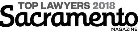 Top lawyers sacramento magazine 2018 badge
